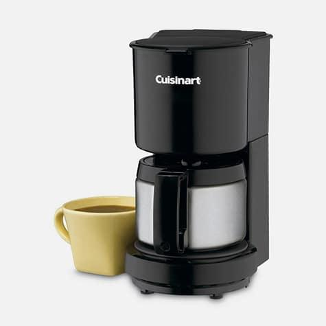 $39.99 4 Cup Coffeemaker with Stainless Steel Carafe