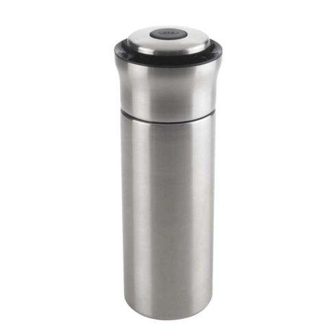 $32.99 Steel Press & Pour Cocktail Shaker