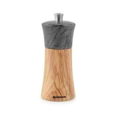 $50.99 Torre Olive Wood Pepper Mill with Granite Top