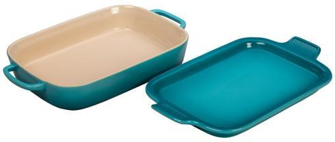 Le Creuset   Rectangular Dish with Platter Lid $99.99