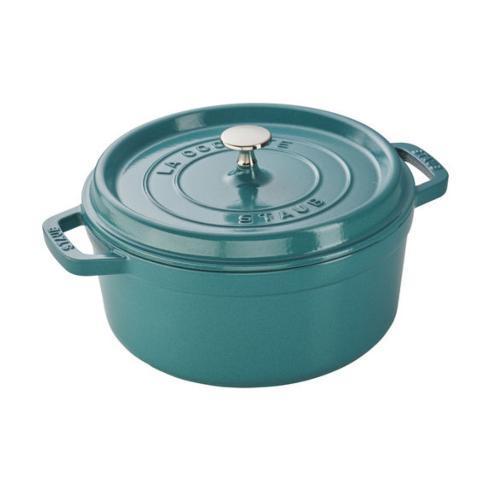 4 Qt. Round Cocotte, Turquoise collection with 1 products