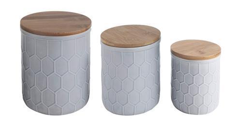 Housewares   Medium Jar with Bamboo Lid $16.50
