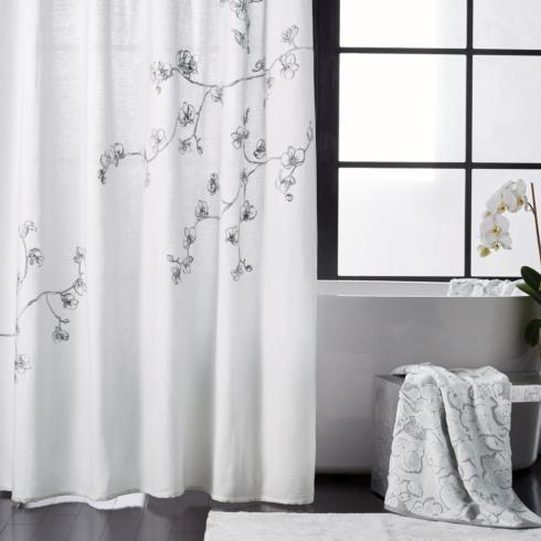 $125.00 Orchid Shower Curtain