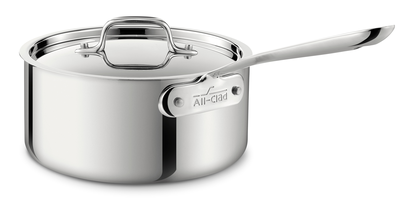 All-Clad   4 Quart Sauce Pan with Lid $225.00