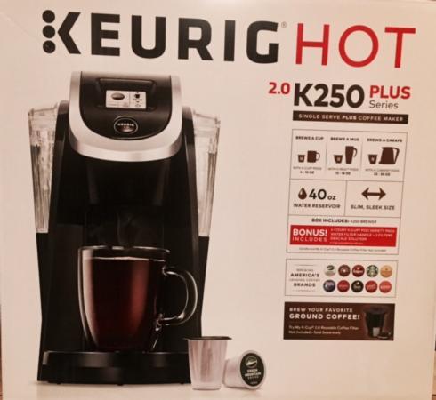 $130.00 Keurig 2.0 K250 Coffee Maker