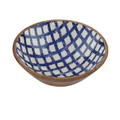 Mudpie   Bungalow Small Wood/Enamel Bowl $44.00