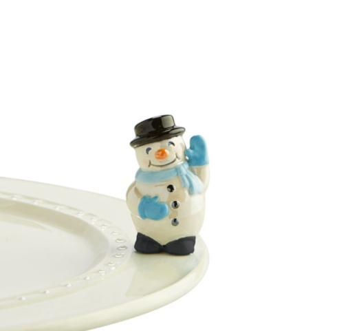 Housewares   Nora Fleming Mini - Snowman $13.95