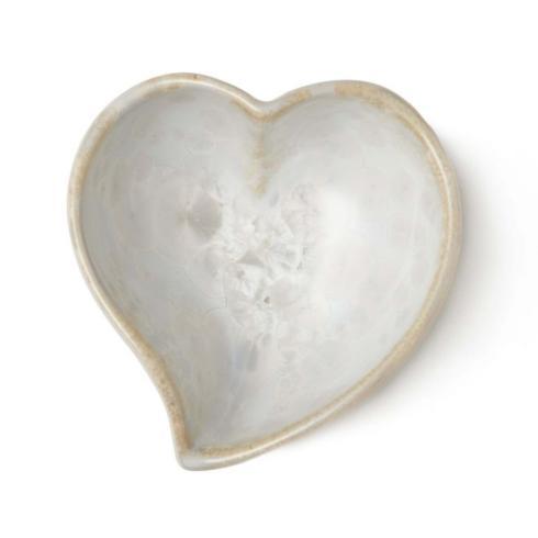 $65.00 Crystalline Twist Heart Bowl - Candent