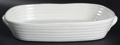 Sophie   Sophie Conran White Lg Handle Rectangular Roaster $52.70