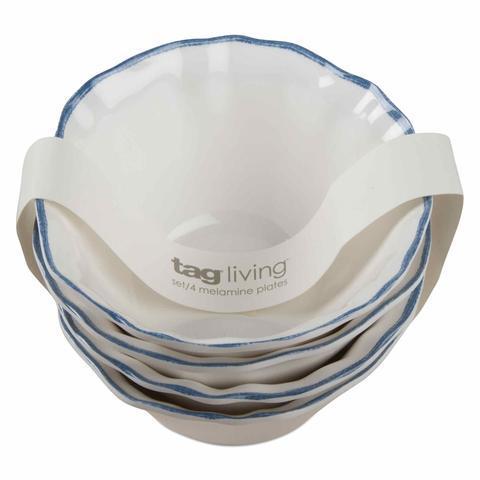 Housewares   Ruffle Rim Melamine Bowl $8.25
