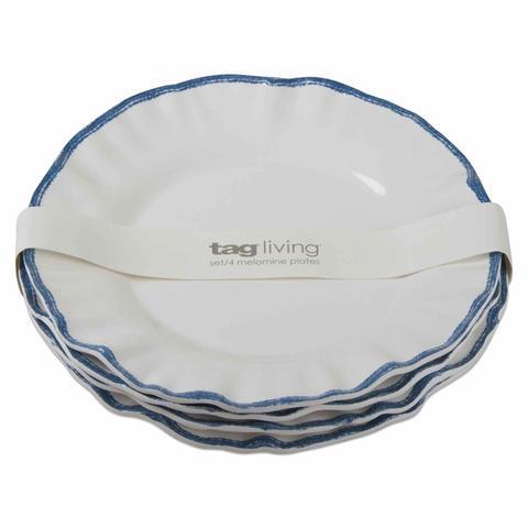 Housewares   Ruffle Rim Melamine Salad Plate $10.00