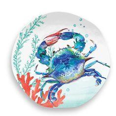 Housewares   Sealife Crab Melamine Salad $8.00
