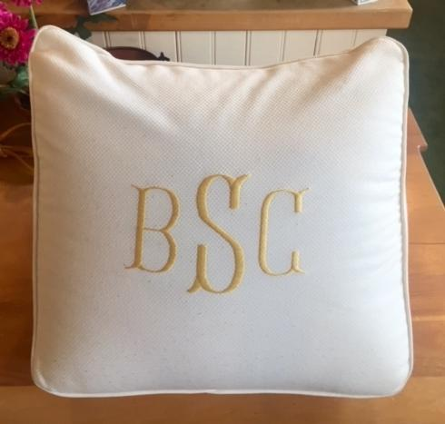 Housewares   TV Pillow with Monogram $102.00