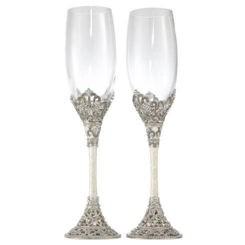 Olivia Riegel  Bridal and Tabletop  Celebration Flute Set $199.00