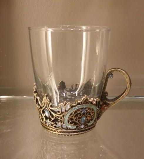 Kenzy Exclusives  Coffee Tea Accessories  Monarch Tea/Coffee cup set $250.00