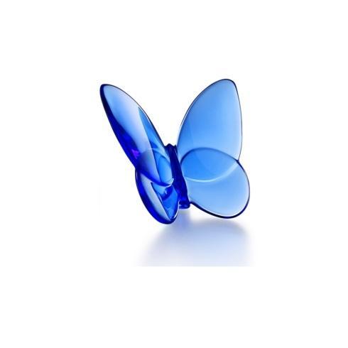 $140.00 Baccarat Papillon Lucky Blue Butterfly