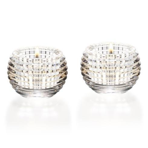 Baccarat   Eye Votives  S/2 $430.00