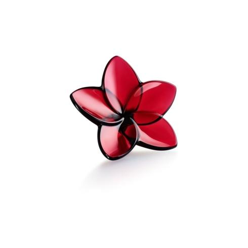 $140.00 Bloom Collection Red Crystal  Flower
