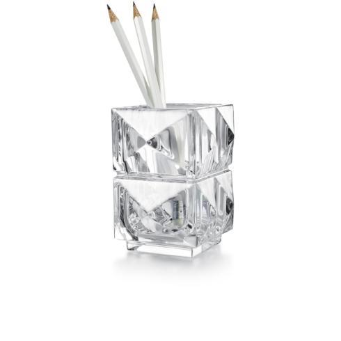 $200.00  Louxor Pencil Holder - Clear