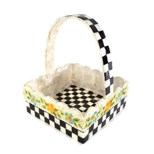 $60.00 Picket Fence Basket