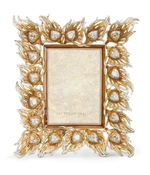 $2,500.00 Ferdinand Peacock Feather Frame - Golden