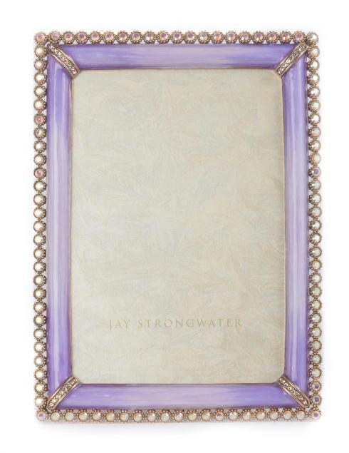 $495.00 Lorraine Stone Edge Frame - Lavender