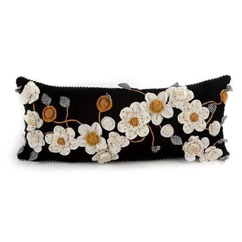 $163.00 Gardenia Lumbar Pillow