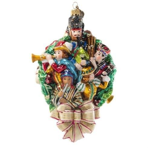 $225.00 11 Pipers Piping Glass Ornament