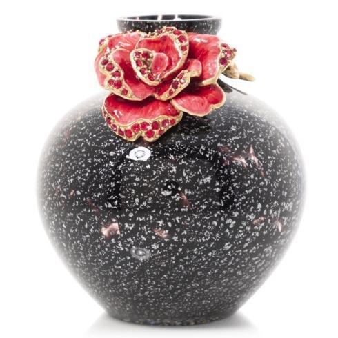 $275.00 Ayla Small Night Bloom Rose Vase