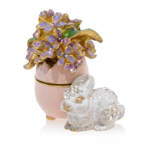 $395.00 Floret - Lilac Egg Bunny Box