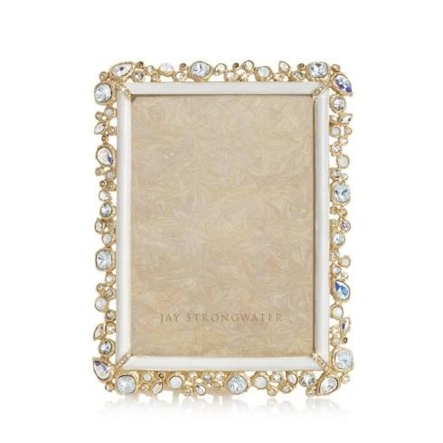 """$1,200.00 Leslie Bejeweled 5"""" x 7"""" Frame"""
