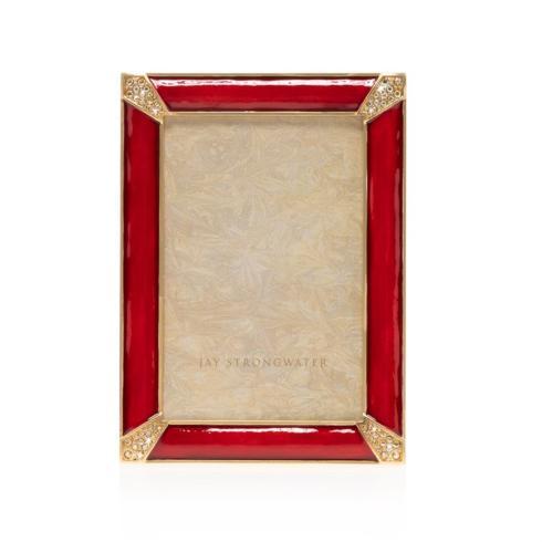 """$395.00 Leonard Pave Corner 4"""" x 6"""" Frame"""