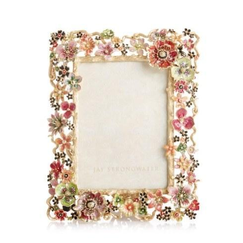 """$2,500.00 Ophelia Cluster Floral 5"""" x 7"""" Frame"""