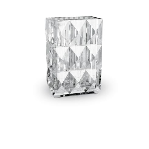 Baccarat   Louxor Vase Rectangular Clear $790.00