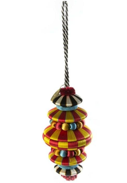 $44.00 Lolo Tassel - Red & Gold