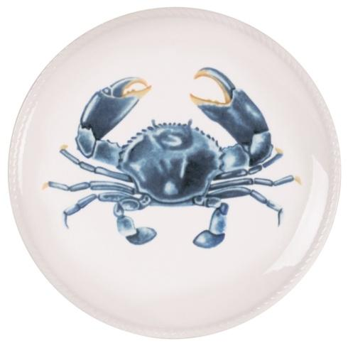 $9.99 8IN Crab Accent Plate