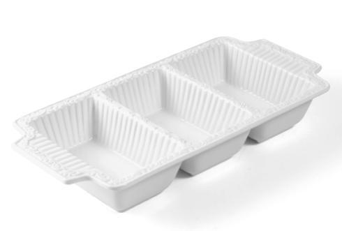 Mikasa  Italian Countryside Dinnerware  3 Section Tray $29.99