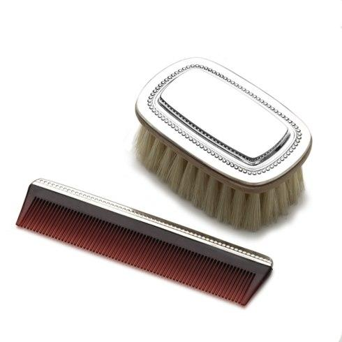 Beaded Brush and Comb Set