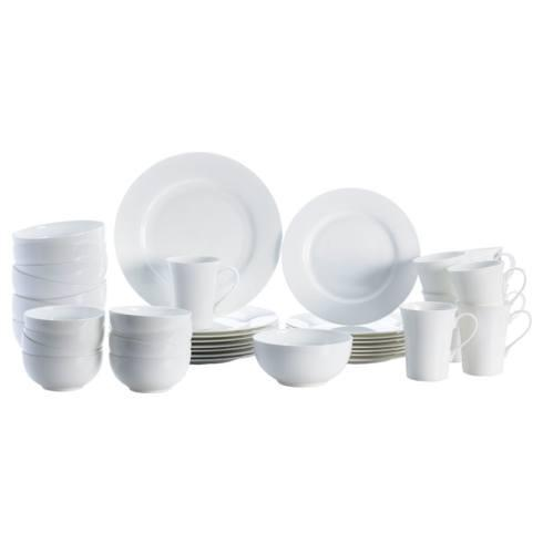 $219.99 Delray 40PC Dinnerware Set, Service for 8