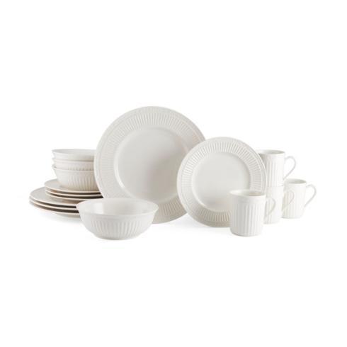 $99.99 Italian Countryside 16PC Dinnerware Set, Service for 4