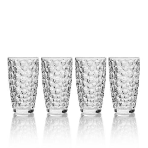 Mikasa  Eau De Vie  11.5OZ Highball, Set of 4  $40.00