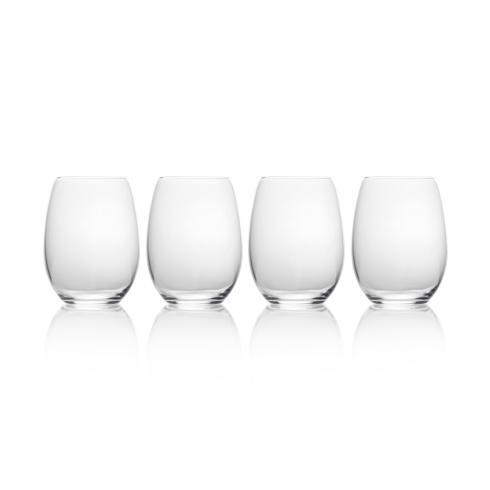 $0.00 Stemless Wine, set of 4