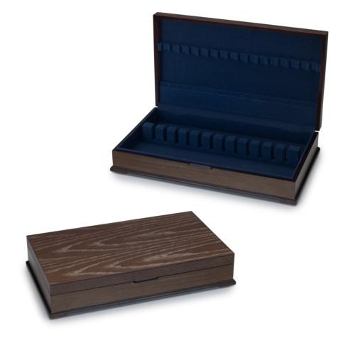$99.99 Distressed Wood Flatware Storage Chest