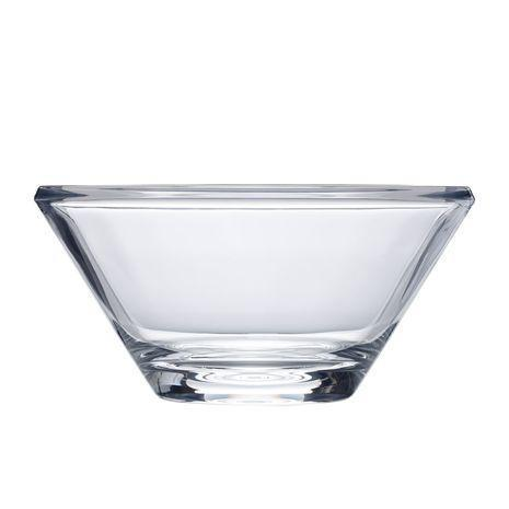 "$59.99 Ellery Clear 11"" Crystal Bowl"