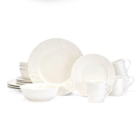 $149.99 English Countryside 16PC Dinnerware Set, Service for 4 (Brown Box Remailer)