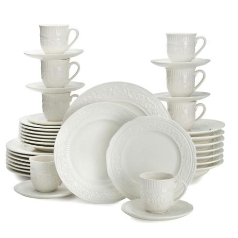 $199.99 American Countryside 40PC Dinnerware Set, Service for 8