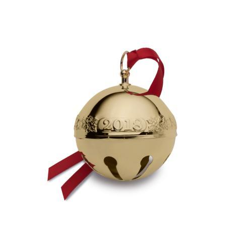 $105.00 Gold Plated Sleigh Bell, 29th Edition
