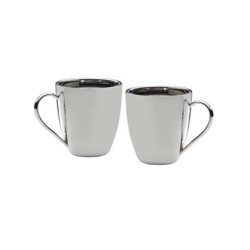 $39.99 Double Wall Mug, set of 2