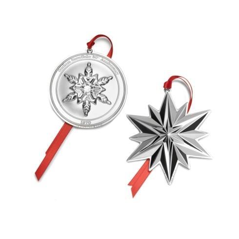 $219.99 Gorham Snowflake 50th Anniversary 2 Piece Collectors Set