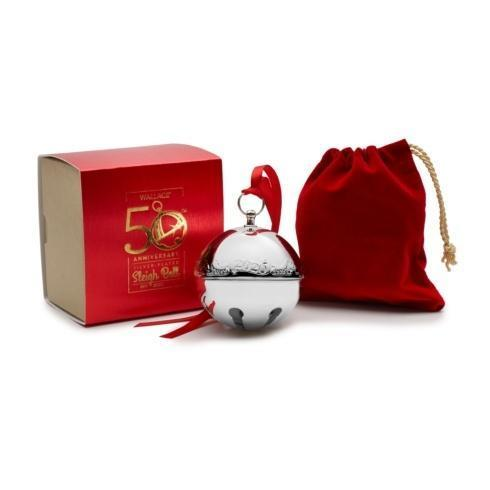Wallace  Collectible Ornaments Silver-plated Sleigh Bell 50th Anniversary Edition $41.99